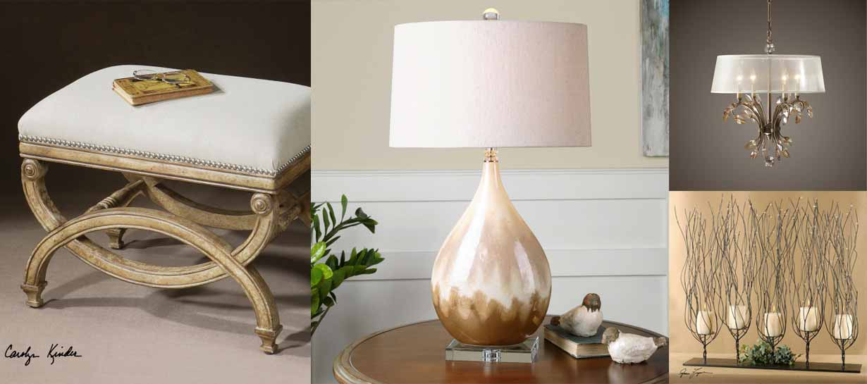 Uttermost Home Decor, Furniture and Lighting