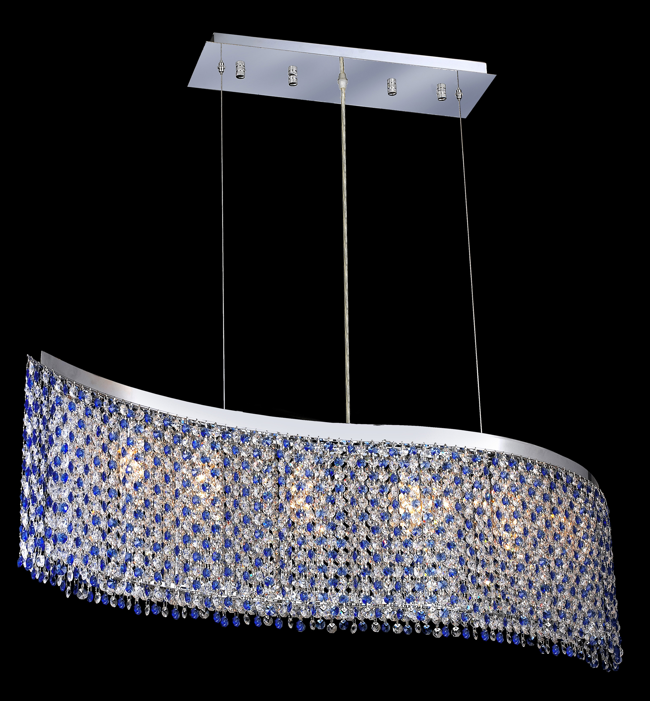 Royal dining room furniture - Elegant Lighting 1296d32c Sa Ss Moda Strass Swarovski