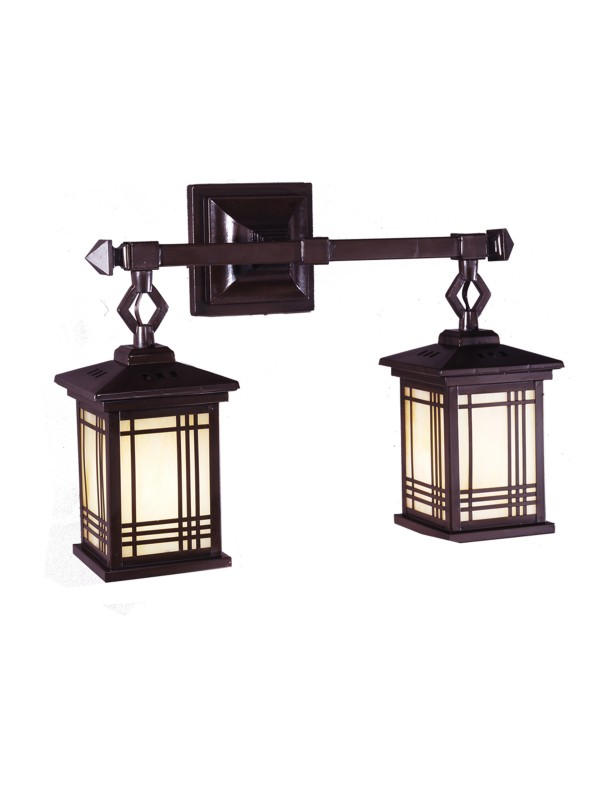 Dale Tiffany - 2604/2lmw Avery Lantern 2-light Wall Sconce - DistrictDecor