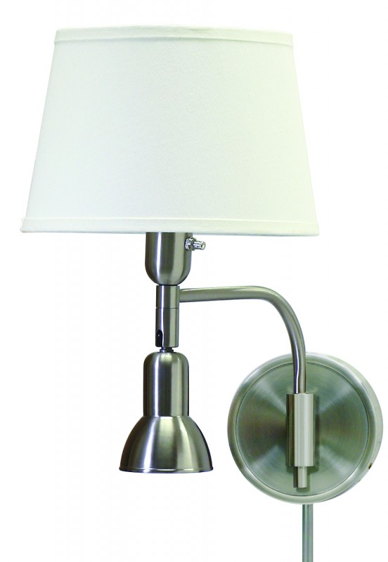 house of troy wall lamp with up and down lighting satin. Black Bedroom Furniture Sets. Home Design Ideas