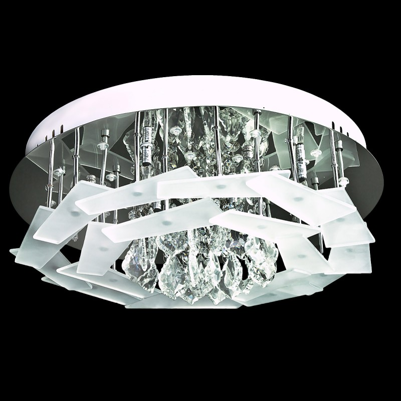 Evrosvet Modern 8 Light Flush Mount DistrictDecor