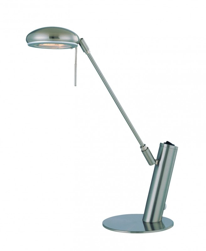 Lite source ls 21185ps halogen desk lamp ps type jcd g8 35w districtdecor - Table lamp types ...