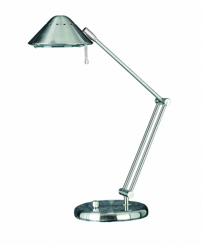 lite source ls 3414ps halogen desk lamp polished steel