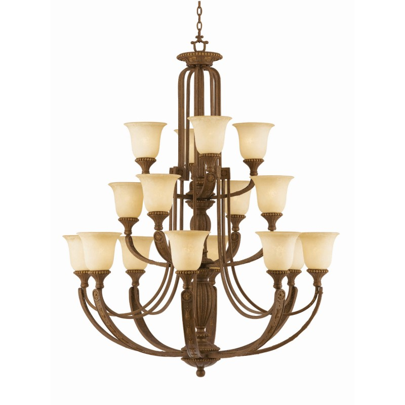 Triarch Lighting 31125 16 Light Ambador Chandelier Districtdecor