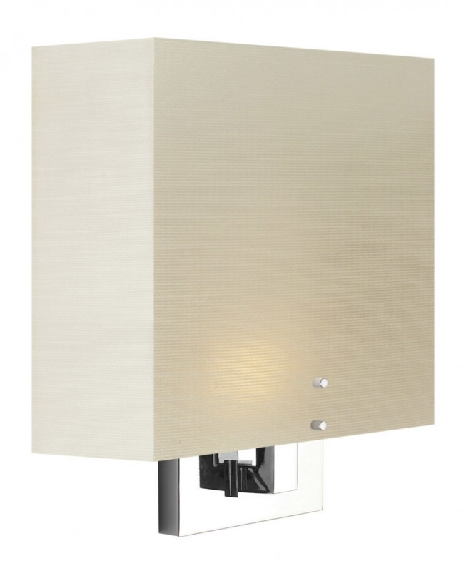 Zen Wall Sconces : Stone Lighting - Wall Sconce Zen Frosted White Polished Nickel Compact Fluorescent Quad 2x13W ...