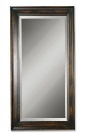 01018 B Palmer Dark Wood Mirror
