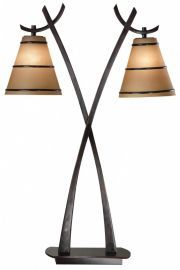 03334 Wright 2 Light Table Lamp