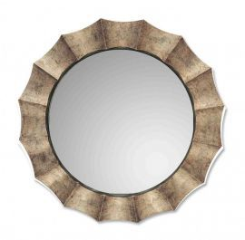 06048 P Gotham U Antique Silver Mirror