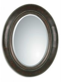 07011 B Tivona Oval Copper Mirror
