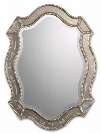 08026 B Felicie Oval Gold Mirror