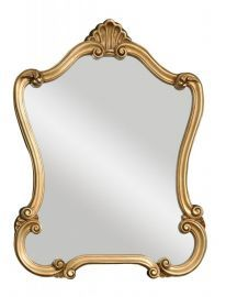 08340 P Walton Hall Gold Mirror