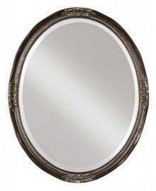 08566 B Newport Oval Bronze Mirror