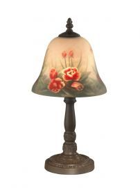 10056/604 Rose Bell Accent Lamp