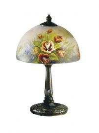 10057/610 Rose Dome Table Lamp