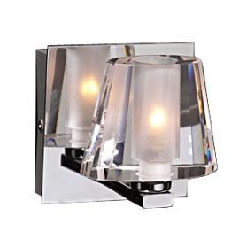 1021 PC Clear Cheope Wall Sconce