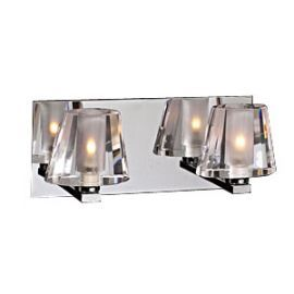 1022 PC Clear Cheope Vanity Light