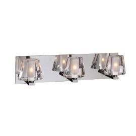 1023 PC Clear Cheope Vanity Light