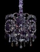 10247-013-se001 Bizet 4-light Chandelier W/ Clear Swarovski Elements Crystal Sienna Bronze