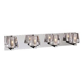1024 PC Clear Cheope Vanity Light