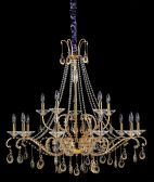 10338-010-fr001 Torelli 15-light Chandelier W/ Clear Firenze Crystal Chrome