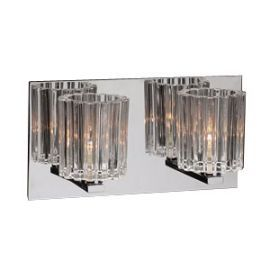 1062 PC Clear Felicia Vanity Light