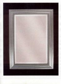 12005 B Stuart Silver Beaded Mirror