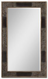 12718 B Serafina Large Gold Mirror