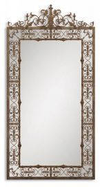 12764 Varese Distressed Brown Mirror