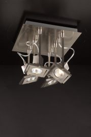 1276 SN  Square Ceiling Fixture