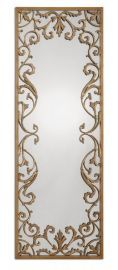 12814 Apricena Decorative Gold Mirror