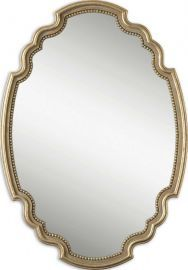 12821 Terelle Oval Gold Mirror