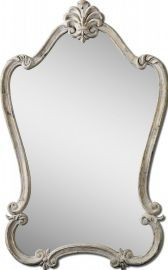 12833 Walton Hall Antique White Mirror
