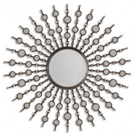13581 B Kimani Antique Silver Mirror