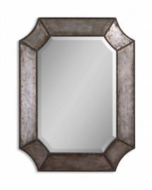 13628 B Elliot Distressed Aluminum Mirror