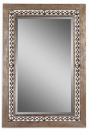 13724 Fidda Antique Silver Mirror