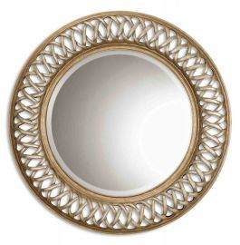 14028 B Entwined Antique Gold Mirror