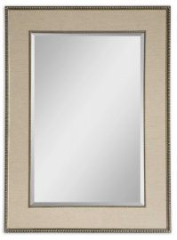 14463 Marilla Beaded Silver Mirror