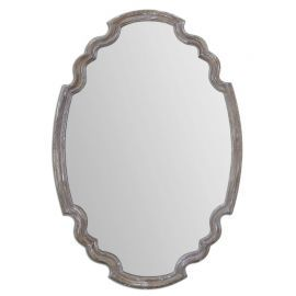 14483 Ludovica Aged Wood Mirror