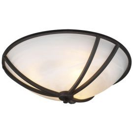 14863 ORB Marbleized Highland Ceiling Fixture