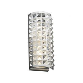 18185 PC Clear Jewel Wall Sconce