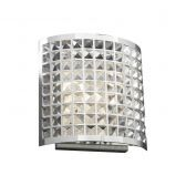 18186 PC Clear Jewel Wall Sconce
