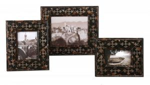 18517 Damir Antique Photo Frames, Set/3