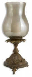 19143 Chandell Distressed Candleholder