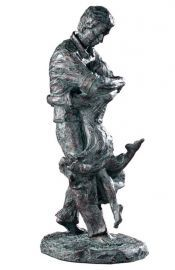 19492 Welcome Home Oil Rubbed Bronze Figurine