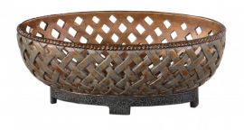19539 Teneh Lattice Weave Design Bowl