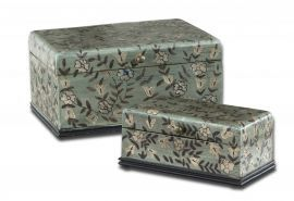 19604 Aciano Hand Painted Boxes, Set/2