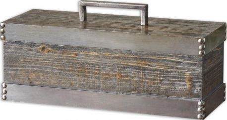 19669 Lican Natural Wood Decorative Box
