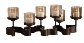 19731 Ribbon Metal Candleholders