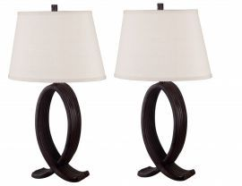 20134ORB Nemeaux 2-Pack Table Lamp