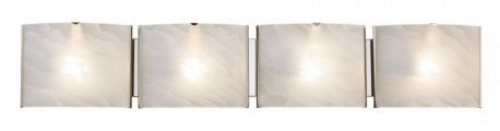 20424 PC 4-Light Bathroom Light, Polished Chrome Finish